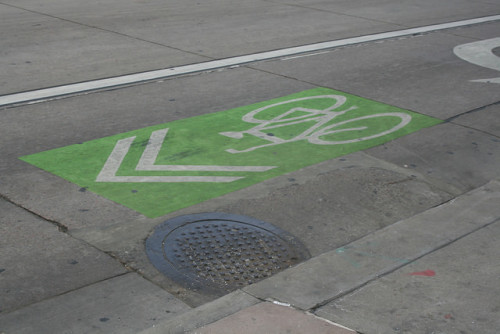 Study: Sharrows Not Greatest for Bicycling Safety