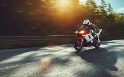 Futuristically Safe Motorbiking, Soon
