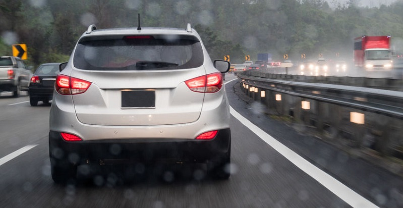 Colorado Auto Accident Risk of Daytime Driving In Rain